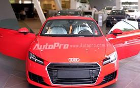 Cận cảnh Audi TT thế hệ mới vừa cập cảng Việt Nam