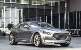 """Hyundai Vision G Concept Coupe – Lời thách thức dành cho """"Mẹc S"""""""