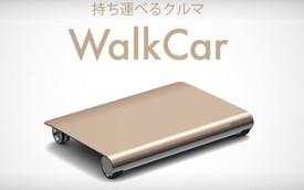 Walkcar - Chiếc xe nhỏ gọn và tiện dụng nhất thế giới giá chỉ 17 triệu đồng