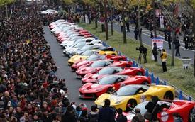 Xe đua F1 cùng 100 siêu ngựa Ferrari náo loạn tại Nhật Bản