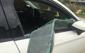 Quảng Bình: Audi A3 bị trộm đập vỡ kính lấy sạch tiền, giấy tờ