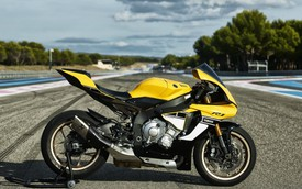Yamaha R1 bản đặc biệt 60 năm chốt giá 642 triệu đồng khi về Việt Nam