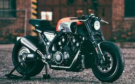 Mãn nhãn với Yamaha VMax độ Dragster lai Cafe-Racer
