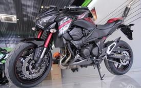 Kawasaki Z800 2016 màu đỏ đen đầu tiên về VN, giá 275 triệu