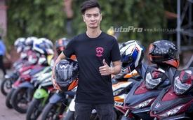 DJ SlimV phượt cùng biker Việt