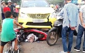 Đà Nẵng: Bị taxi kéo lê hơn 10 mét, người đàn ông thoát chết hi hữu