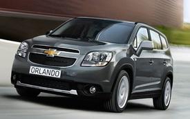 Gần 300 chiếc Chevrolet Orlando bị GM Việt Nam triệu hồi