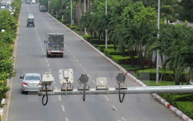 """Từ 1/5, """"phạt nguội"""" qua camera trên đường cao tốc Nội Bài-Lào Cai"""
