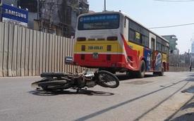 Đi sát xe buýt, nam thanh niên bị cuốn vào gầm tử vong