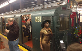 Khám phá đường xe lửa cổ điển rất đặc biệt giữa lòng thành phố New York