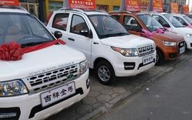 Hãng ô tô điện khiến người ta cười ra nước mắt với loạt sản phẩm nhái các dòng xe Audi, BMW, Range Rover...