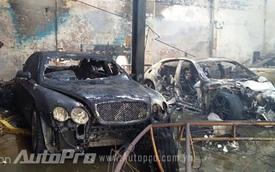 Sài Gòn: Cháy lớn, gara ô tô chuyên sửa xe sang Bentley bị thiêu rụi