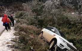 Xem cảnh Range Rover Sport bị rơi xuống sườn núi tại Cao Bằng