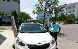 Kia K3 của đại gia taxi độ cửa cắt kéo tại Đà Nẵng