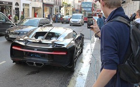 """Xem cảnh siêu xe Bugatti Chiron """"lên xe hoa về nhà chồng"""""""