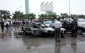 Cháy ôtô tại sân bay Nội Bài, 1 người tử vong