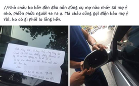 Người làm vỡ gương ôtô và bài học về sự tử tế