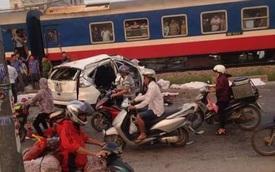 Thêm một người tử vong trong vụ tàu hỏa đâm Honda CR-V