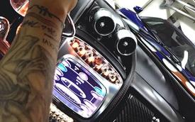 """Minh """"Nhựa"""" đăng ảnh khoe nội thất tuyệt đẹp của siêu xe Pagani Huayra"""