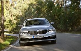 Chi tiết phiên bản tiết kiệm xăng của BMW 5-Series thế hệ mới