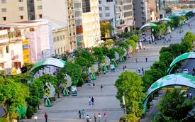 TP. HCM: Phân luồng giao thông triển khai đường hoa Nguyễn Huệ phục vụ Tết Nguyên đán
