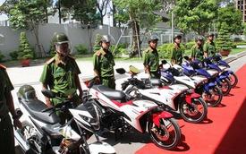 Công an TPHCM tăng cường xe đặc chủng chống cướp giật