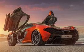 Những bí mật phía sau siêu xe McLaren P1