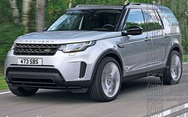 Đây có thể là Land Rover Discovery 2016