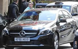Cậu cả nhà David Beckham học lái xe bằng Mercedes-Benz A-Class