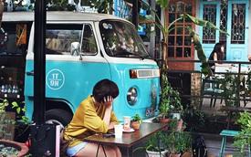 """Những quán xá """"đội lốt"""" xe cổ siêu đáng yêu ở Sài Gòn"""