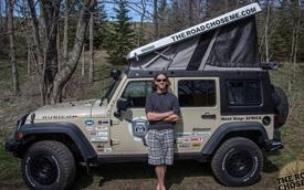 """""""Tôi đã biến xe Jeep thành nhà để đi vòng quanh châu Phi như thế nào"""""""