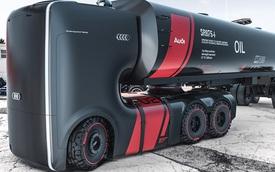 Audi Truck - hiện thân của thiết kế xe tải tương lai