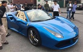 Thiếu gia 9X Hà thành đưa siêu xe Ferrari 488 Spider đầu tiên về Việt Nam