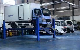 FUSO kiểm tra xe tải Canter miễn phí cho khách Việt