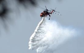 Trực thăng cứu hỏa hoạt động như thế nào?