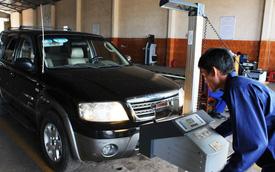 Từ 2017, thay đổi phí kiểm định xe cơ giới