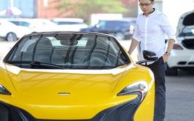 Phan Thành chi tiền tỷ tậu siêu xe McLaren 650S Spider