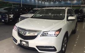 Acura MDX 2016 bản cao cấp nhất cập bến Sài thành, giá từ 4,2 tỷ Đồng