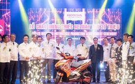 Honda đã sản xuất 20 triệu xe máy tại Việt Nam