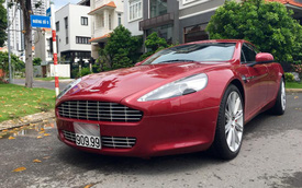 """""""Nữ hoàng"""" Aston Martin Rapide màu độc, biển đẹp, rao bán 5,39 tỷ Đồng"""
