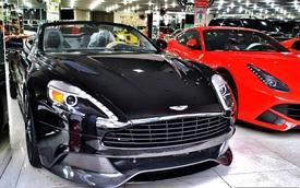 Siêu xe Aston Martin Vanquish mui trần đầu tiên cập bến Việt Nam