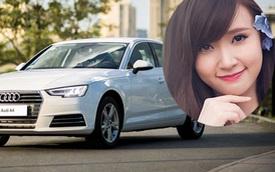 Hot girl Midu tậu xe sang tiền tỷ Audi A4 mới