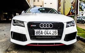 Bắt gặp hàng hiếm Audi A7 Sportback độ bodykit RS7 tại Tây Nguyên