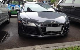 Hàng hiếm Audi R8 V10 2012 tái xuất trên phố Sài thành