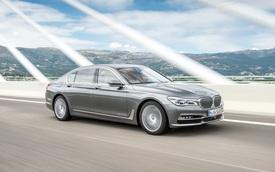 BMW 750d 2016: Mạnh mẽ mà lại tiết kiệm nhiên liệu
