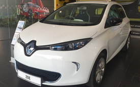 Cận cảnh Renault Zoe sẽ về Việt Nam làm taxi Mai Linh