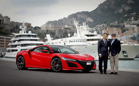 Người đầu tiên tại châu Âu mua siêu xe Honda NSX thế hệ mới