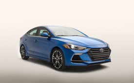 Hyundai vén màn phiên bản thể thao của Elantra 2017