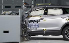 Hyundai Santa Fe 2017 an toàn hơn hẳn phiên bản cũ