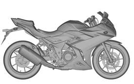 """Suzuki GSX-R250 2017 """"hiện nguyên hình"""", cạnh tranh Honda CBR250RR"""